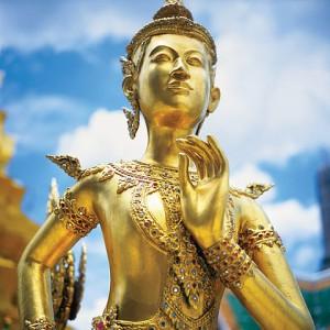 Statue of Kinnorn, Bangkok, Thailand