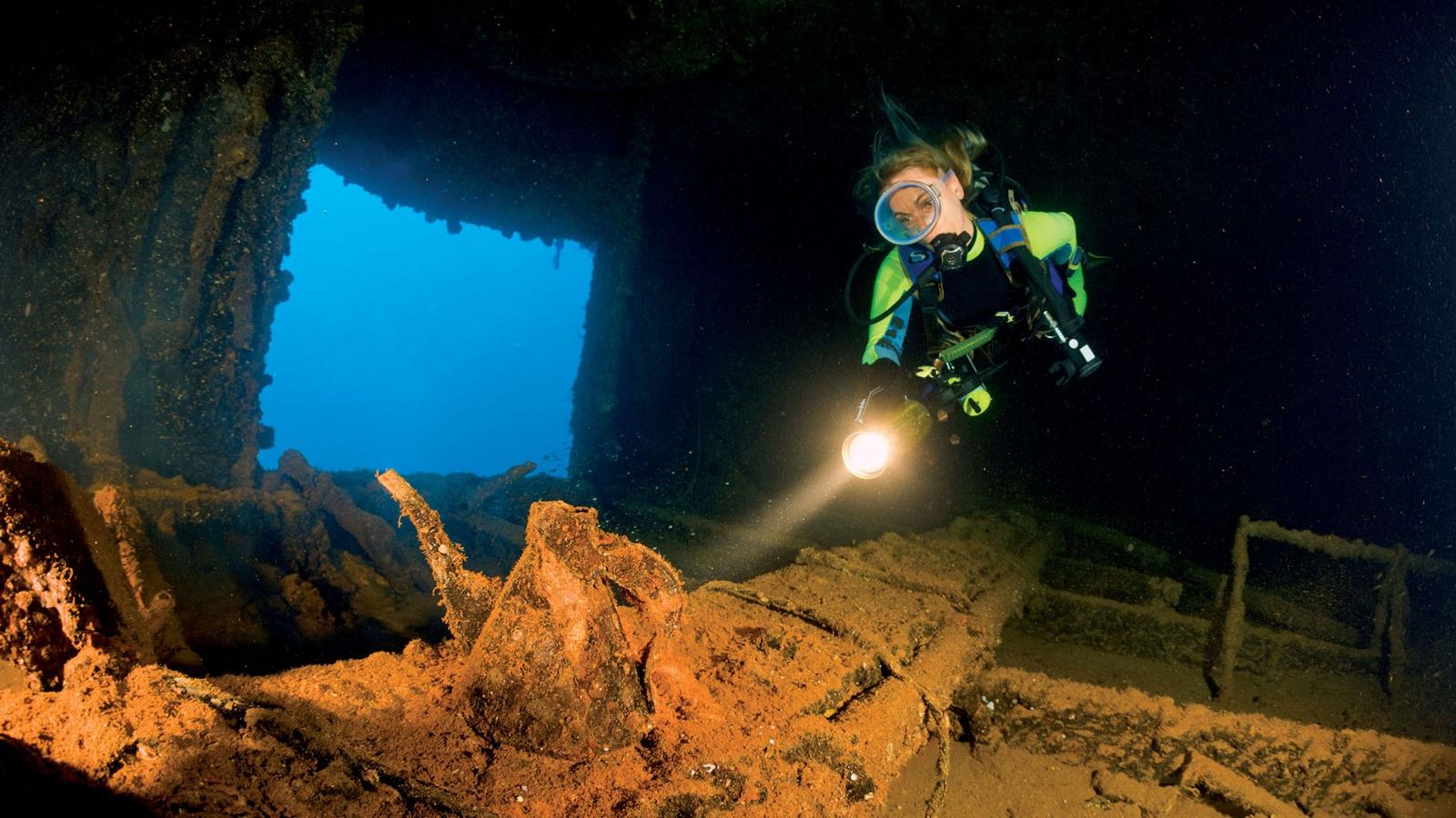 HIJMS Nagato Wreck