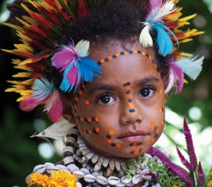Child in Papua New Guinea