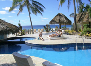 Pool at Club Raro, Rarotonga, Cook Islands