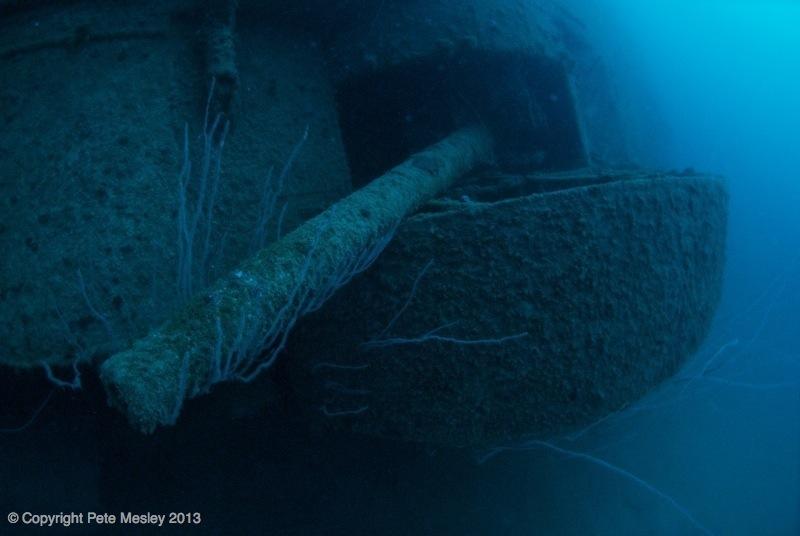 USS Arkansas Wreck
