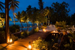 Beqa Lagoon Resort near Viti Levu, Fiji Islands in the South Pacific
